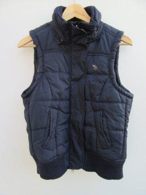 Abercrombie & Fitch Short Jacket dark blue