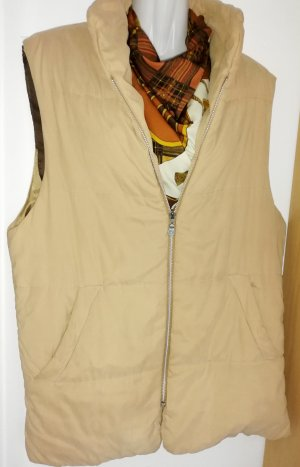 Quilted Gilet sand brown-beige