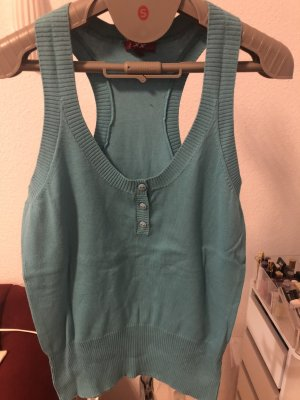Mexx Knitted Vest light blue