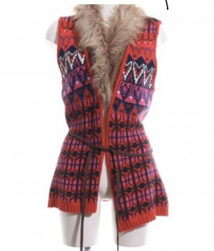 Knitted Vest multicolored