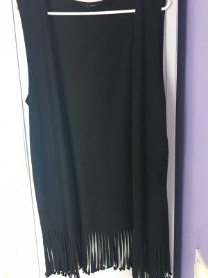 Tezenis Fringed Vest black polyester