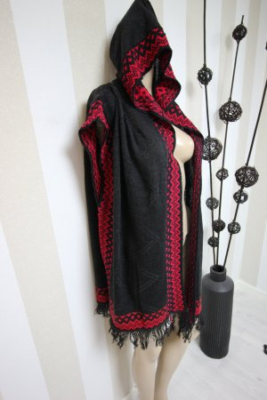 Smanicato nero-rosso