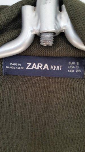 """Weste mit """"Lederärmel"""" der Marke Zara"""