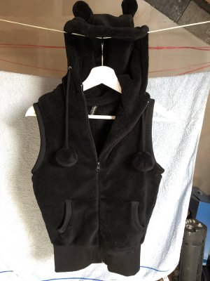 Madonna Hooded Vest black