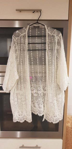 Yessica Fringed Vest white