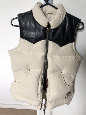 Mooseknuckles Down Vest natural white-black