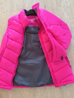 H&M Quilted Gilet neon pink