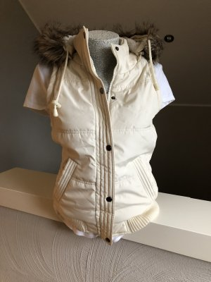 Only Hooded Vest cream