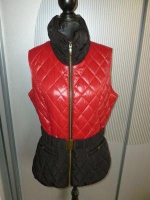 Weste rot schwarz Orsay