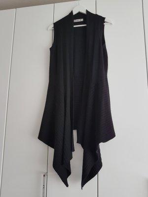 Weste schwarz aus Wolle 38 M