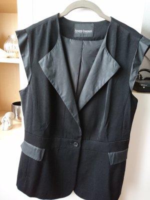 Bruno Banani Gilet de costume noir