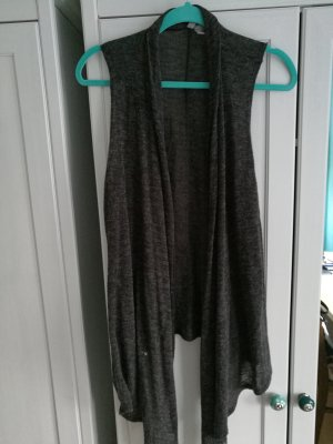 H&M Long Knitted Vest multicolored polyacrylic