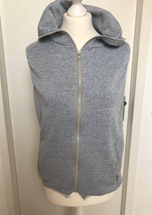 Chaleco deportivo gris-gris claro