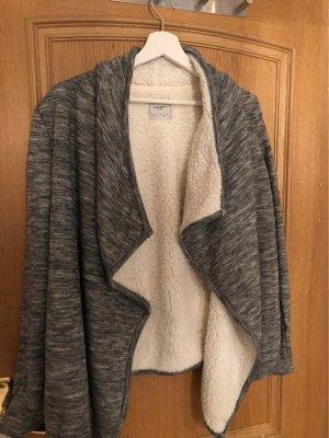 Vero Moda Fake Fur Vest grey