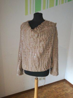 Ana Alcazar Fur vest beige
