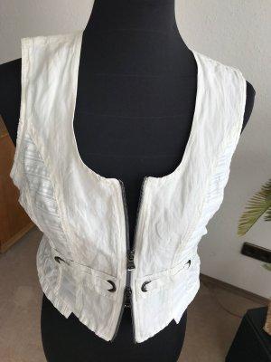 Biba Vest licht beige-wit