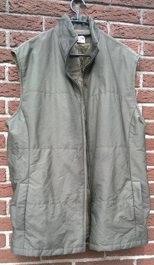 Delmod Gewatteerd vest bos Groen-groen-grijs Polyester
