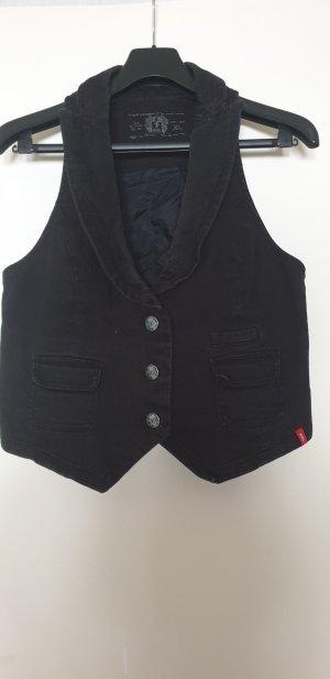 edc by Esprit Biker Vest black