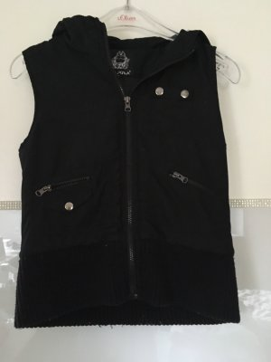 Karma Hooded Vest black