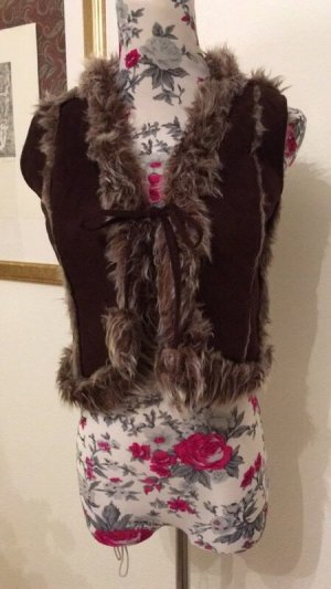 Koton Fur vest multicolored