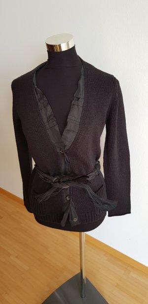 Luisa Cerano Gilet tricoté noir