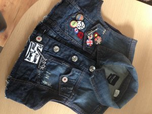 Miss Sixty Vest dark blue