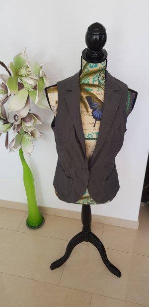 More & More Waistcoat grey-green grey