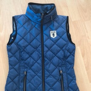 Tom Tailor Quilted Gilet blue