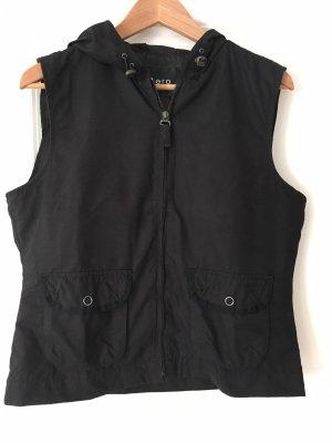 Zero Chaleco con capucha negro
