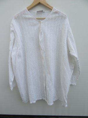 Vintage Gilet tricoté blanc