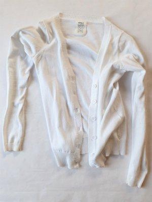 Only Smanicato lavorato a maglia bianco Cotone