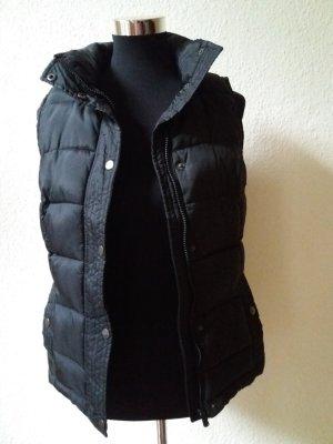 Weste Zara Trf L in schwarz