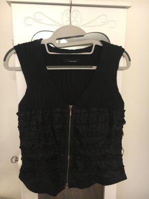 Stefanel Biker Vest black