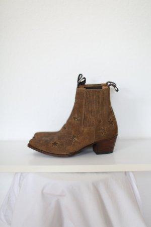 Sendra Western Booties brown