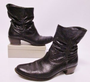Paul Green Western Booties multicolored leather