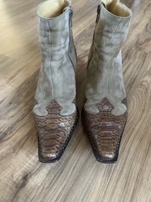 Paul Green Western Booties beige-brown