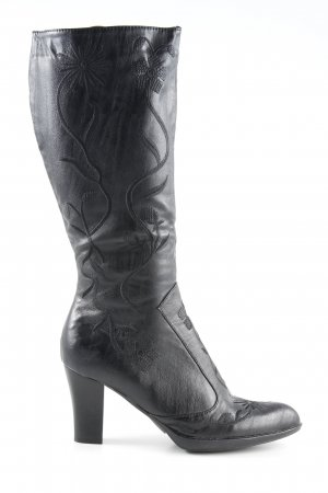 Western Boots dark brown country style