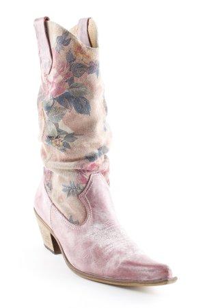 Western Laarzen bloemen patroon country stijl