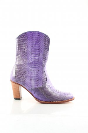 Boots western violet style extravagant
