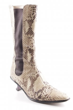 Westernstiefel sandbraun-braun Country-Look