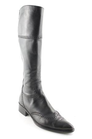 Botas estilo vaquero negro look Boho