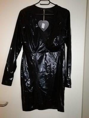 Wet Leder Kleid Club L 12