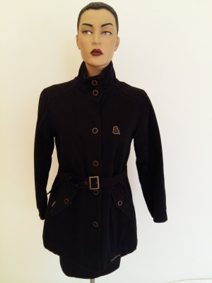 Dolce & Gabbana Imperméable noir coton