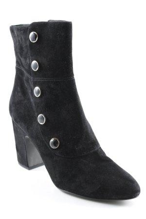 What for Reißverschluss-Stiefeletten schwarz Elegant