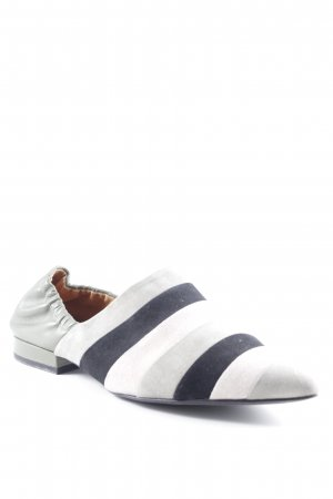 What for Scarpa slip-on motivo a righe stile casual