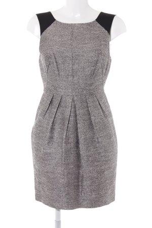 Whistles Abendkleid schwarz-graubraun meliert Paris-Look