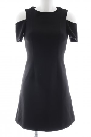 Whistles Cut-Out-Kleid schwarz Casual-Look