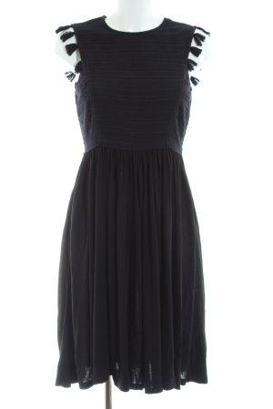 Whistles Jerseykleid schwarz Elegant