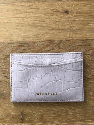 Whistles Porte-cartes rose clair-mauve