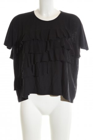 Whistles Oversized Shirt schwarz Elegant
